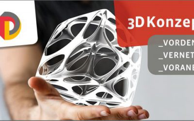 3DKonzeptLab 2019 – Save the Date! 12./13. September 2019 in Berlin