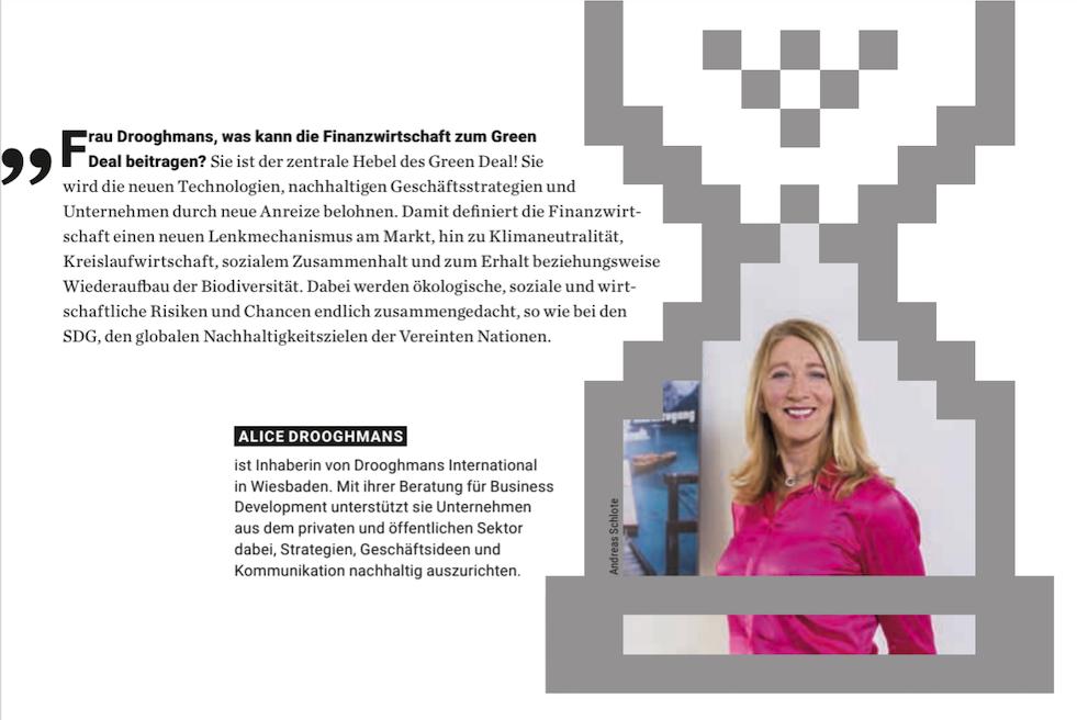 Hessische Wirtschaft – 14 Statements für die Zukunft unseres blauen Planeten.